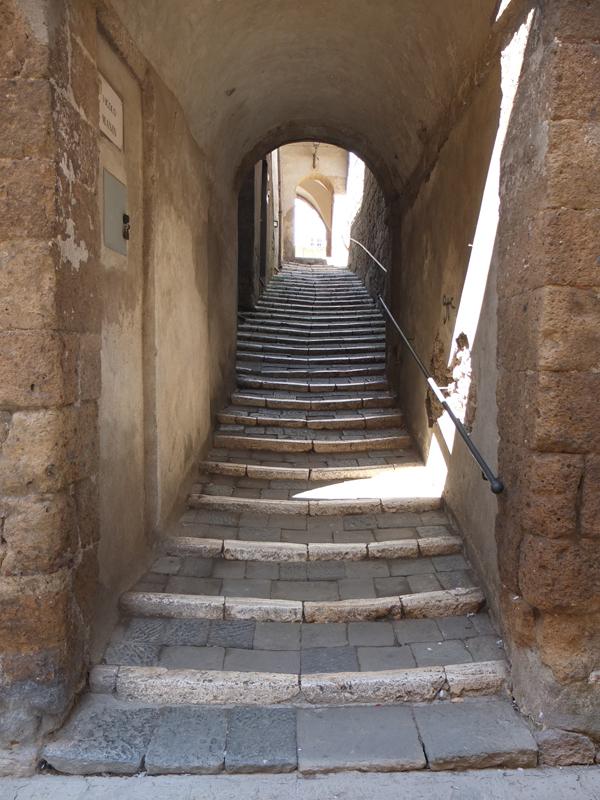 Über Stufen eigene Grenzen überwinden